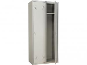 Шкаф металлический для одежды ПРАКТИК LS(LE)-21-80 купить на выгодных условиях в Нижнем Новгороде