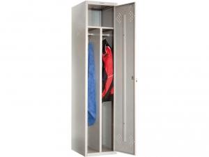 Шкаф металлический для одежды ПРАКТИК LS(LE)-11-40D купить на выгодных условиях в Нижнем Новгороде