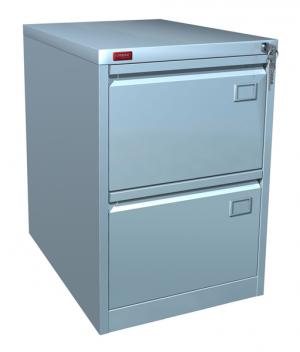 Шкаф металлический картотечный КР - 2 купить на выгодных условиях в Нижнем Новгороде