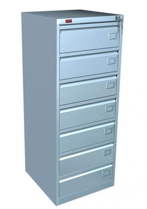 Шкаф металлический картотечный КР - 7 купить на выгодных условиях в Нижнем Новгороде