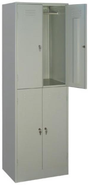Шкаф металлический для одежды ШРМ - 24 купить на выгодных условиях в Нижнем Новгороде