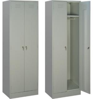 Шкаф металлический для одежды ШРМ - 22 купить на выгодных условиях в Нижнем Новгороде