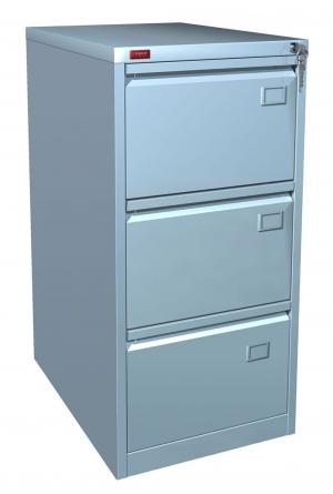 Шкаф металлический картотечный КР - 3 купить на выгодных условиях в Нижнем Новгороде