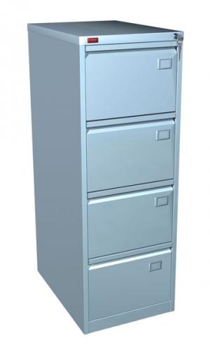 Шкаф металлический картотечный КР - 4 купить на выгодных условиях в Нижнем Новгороде