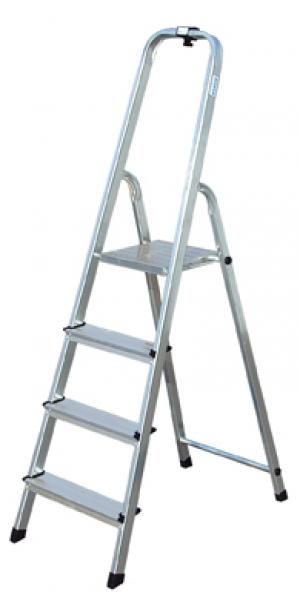 Лестница стремянка Solidy 4 ступени купить на выгодных условиях в Нижнем Новгороде