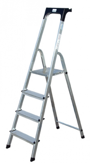 Лестница стремянка Safety 4 ступени купить на выгодных условиях в Нижнем Новгороде
