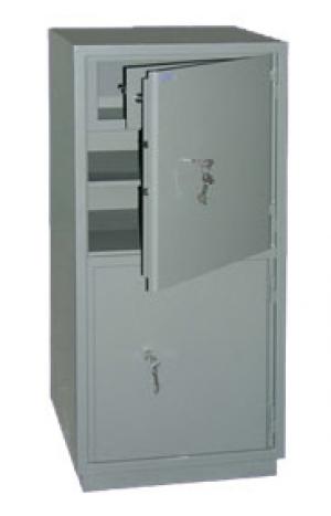Шкаф металлический бухгалтерский КС-2Т купить на выгодных условиях в Нижнем Новгороде