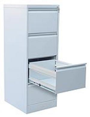 Шкаф металлический картотечный ШК-4 (4 замка) купить на выгодных условиях в Нижнем Новгороде