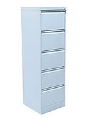 Шкаф металлический картотечный ШК-5 (5 замков) купить на выгодных условиях в Нижнем Новгороде
