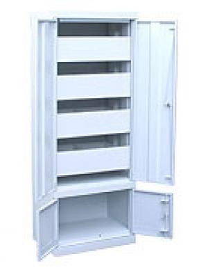 Шкаф металлический картотечный ШК-4-Д4 купить на выгодных условиях в Нижнем Новгороде