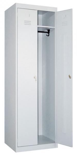 Шкаф металлический для одежды ШР-22-600 купить на выгодных условиях в Нижнем Новгороде