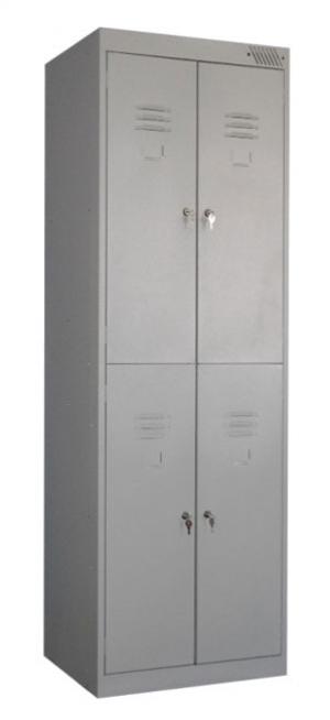 Шкаф металлический для одежды ШРK-24-600 купить на выгодных условиях в Нижнем Новгороде