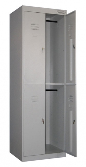 Шкаф металлический для одежды ШРK-24-800 купить на выгодных условиях в Нижнем Новгороде