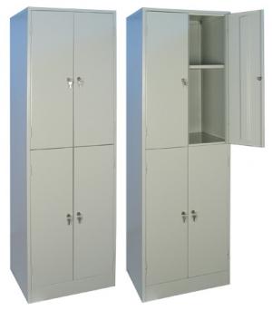 Шкаф металлический для хранения документов ШРМ - 24.0 купить на выгодных условиях в Нижнем Новгороде