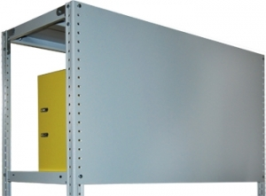 Стенка 100/100 для металлического стеллажа купить на выгодных условиях в Нижнем Новгороде