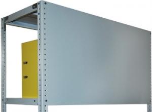 Стенка усиленная 100\70 для металлического стеллажа купить на выгодных условиях в Нижнем Новгороде