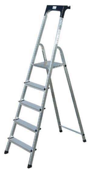 Лестница стремянка Safety 5 ступеней купить на выгодных условиях в Нижнем Новгороде