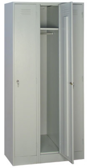 Шкаф металлический для одежды ШРМ - 33 купить на выгодных условиях в Нижнем Новгороде