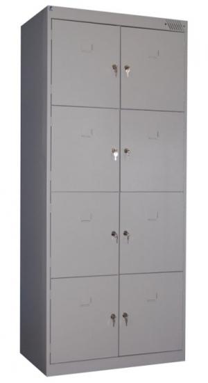 Шкаф металлический для сумок ШРК-28-800 купить на выгодных условиях в Нижнем Новгороде